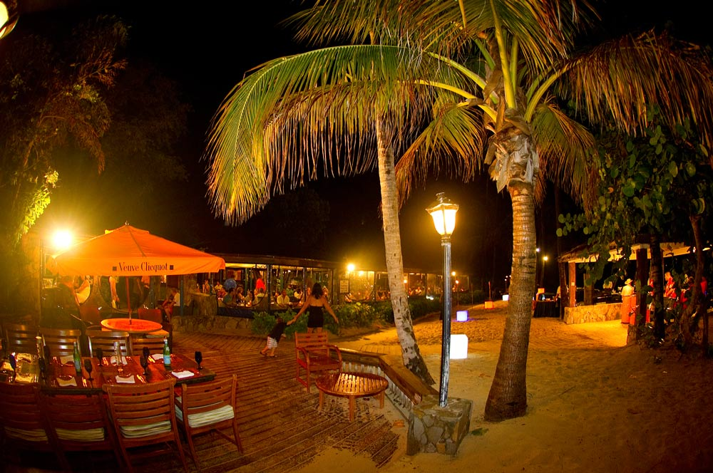 Event Setup at Deadmans Bar and Grill at Peter Island Resort & SpaPeter IslandBritish Virgin Islands