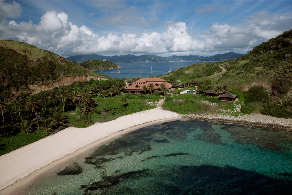 Aerial View of Spa at Peter Island Resort & SpaPeter IslandBritish Virgin Islands