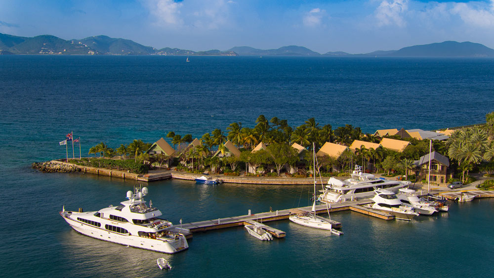 Marina at Peter Island Resort & Spa, Peter Island, British Virgin Islands