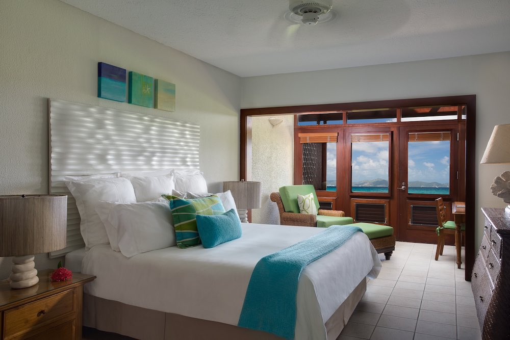 Deluxe Ocean View Room at the Peter Island Resort & Spa