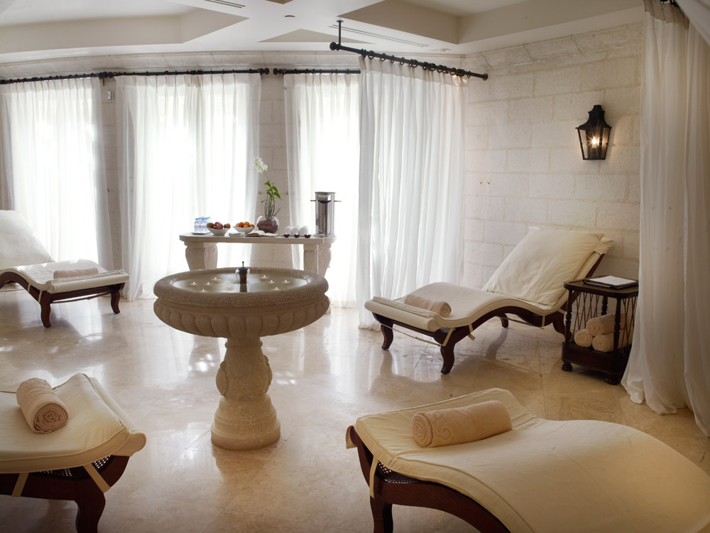 Relaxation Spa Room at Sandy Lane HotelBarbados