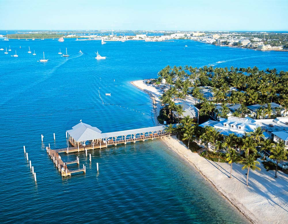 Aerial View of Sunset Key CottagesKey WestFL