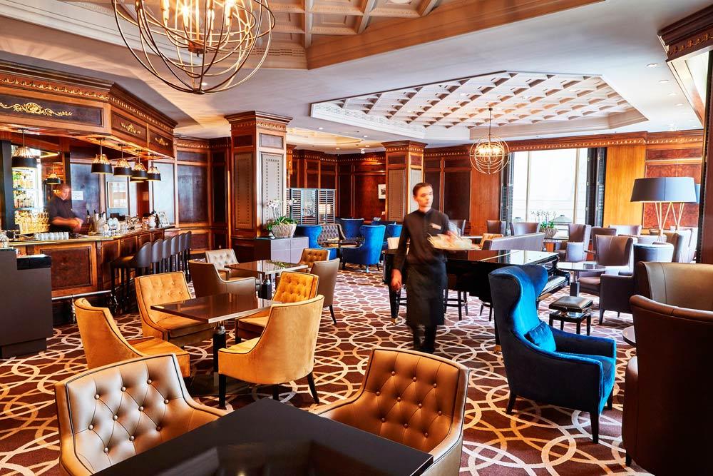 Lounge and Bar at Steigenberger Wiltchers BrusselsBelgium