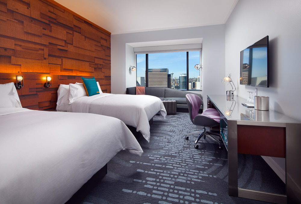 Double Guest Room at W SeattleWashington