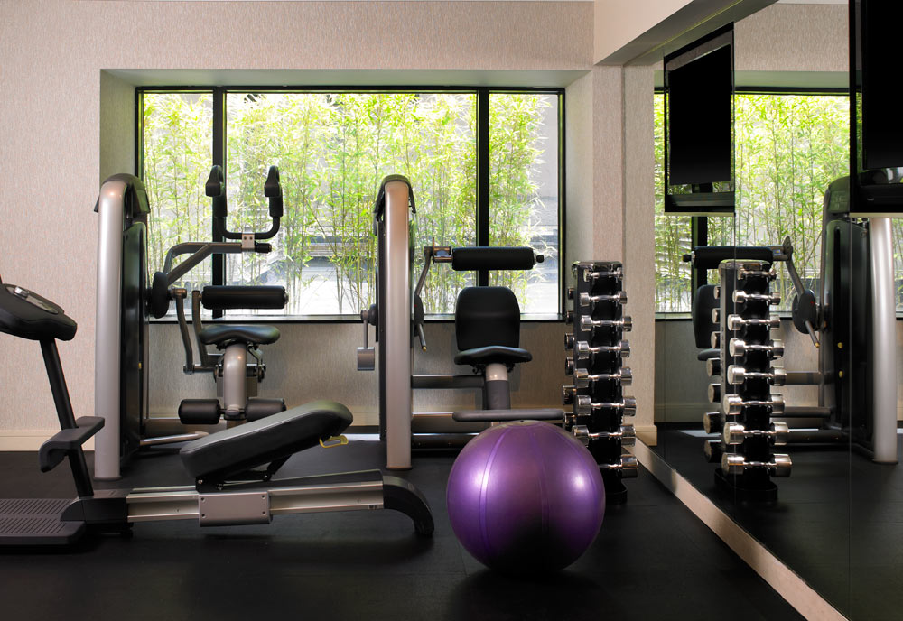 Gym at W SeattleWashington