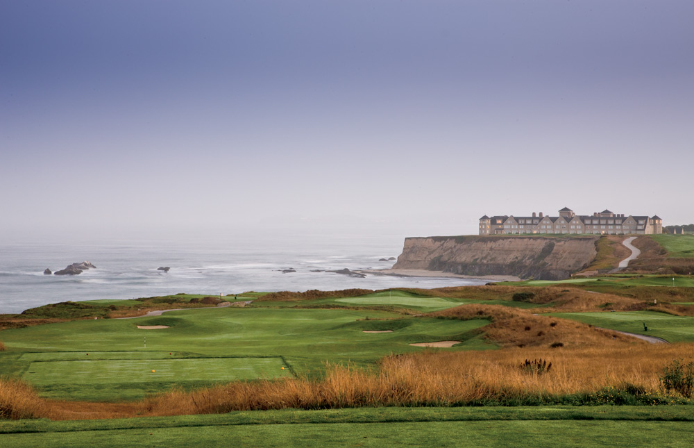 Exterior of Ritz Carlton Half Moon Bay