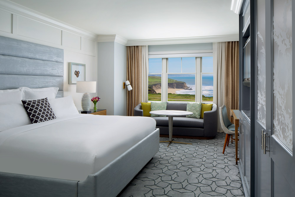 Guest Room at Ritz Carlton Half Moon Bay