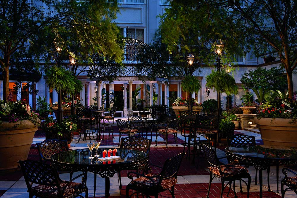 Evening Terrace Dining at The Ritz-CarltonNew OrleansNew OrleansLA