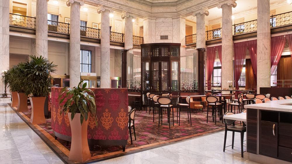 Lobby at Ritz Carlton Philadelphia