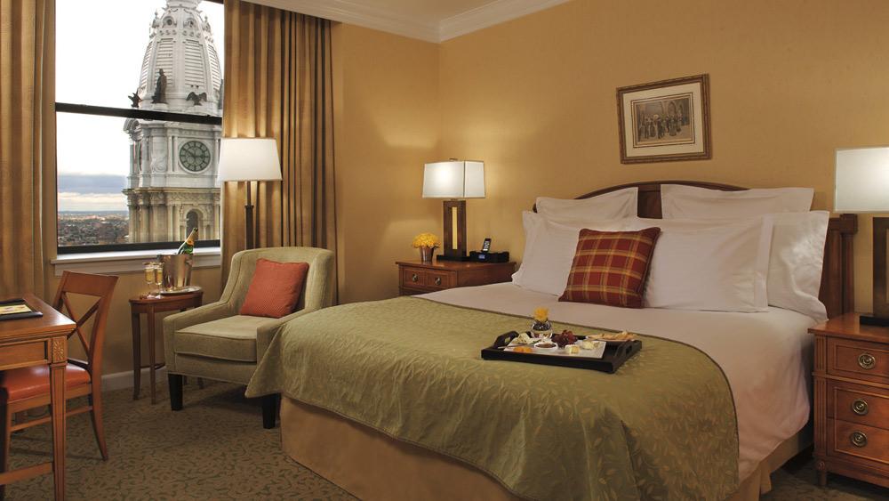 Guestroom at Ritz Carlton Philadelphia