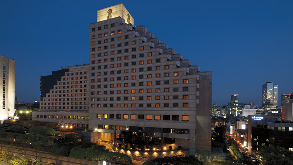 Exterior of Ritz Carlton Seoul