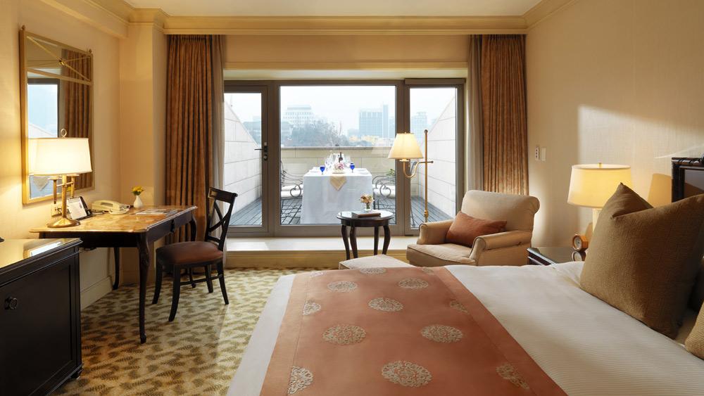 Guest Room at Ritz Carlton Seoul