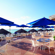 Dine by the beach at Ritz Carlton CancunMexico