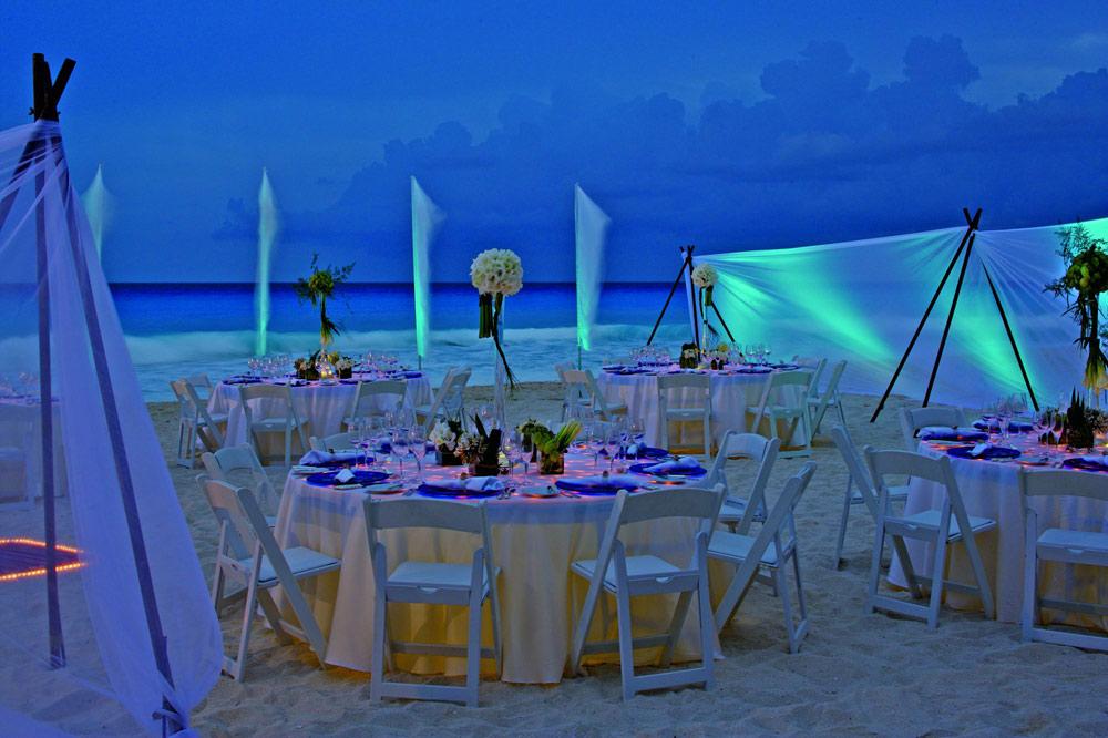 Wedding Reception at Ritz Carlton CancunMexico