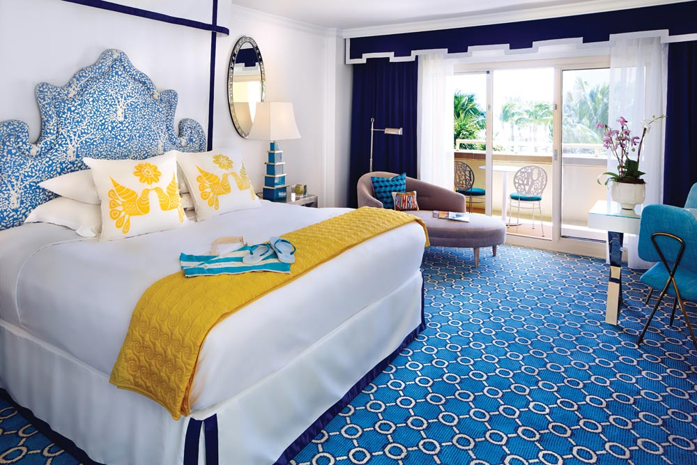 Junior Suite guestroom at Eau Palm Beach, Manalapan, Florida
