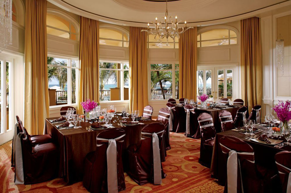 Ocean Ballroom at Eau Palm Beach, Manalapan, Florida