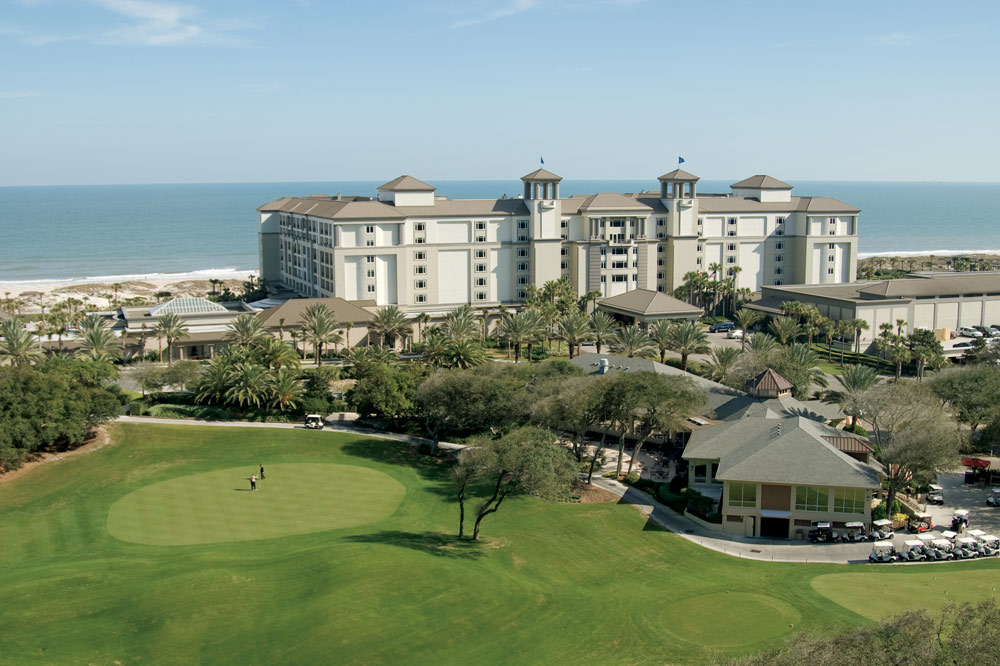 Overview of Ritz Carlton Amelia Island
