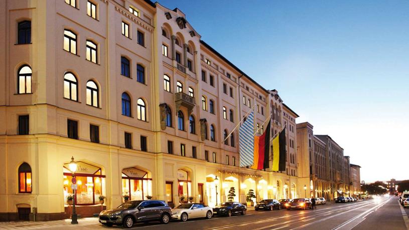 Hotel Vier Jahreszeiten Kempinski Munich Exterior
