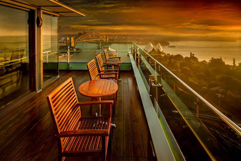 Terrace Lounge at InterContinental SydneyAustralia