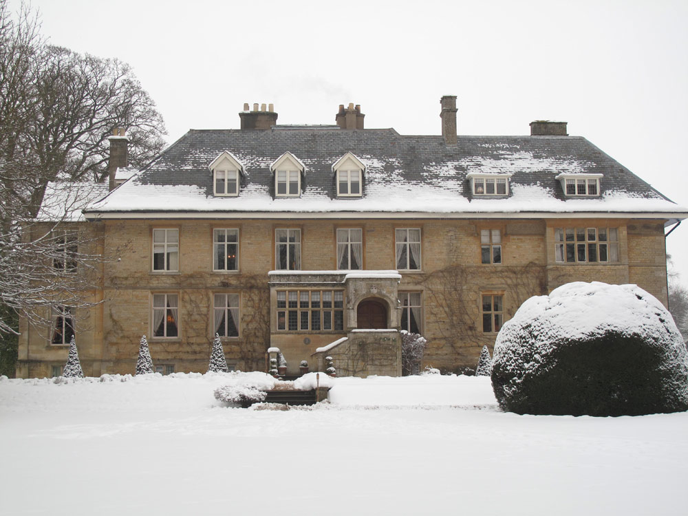 Exterior at Wintertime, Lower Slaughter Manor, United Kingdom