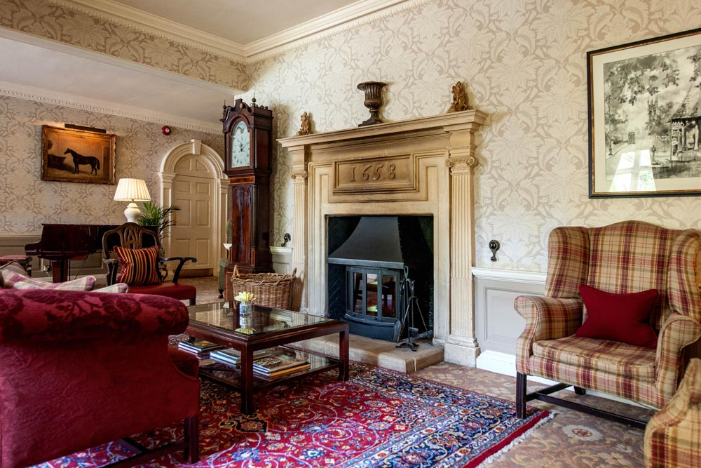 Lounge at Lower Slaughter Manor, United Kingdom