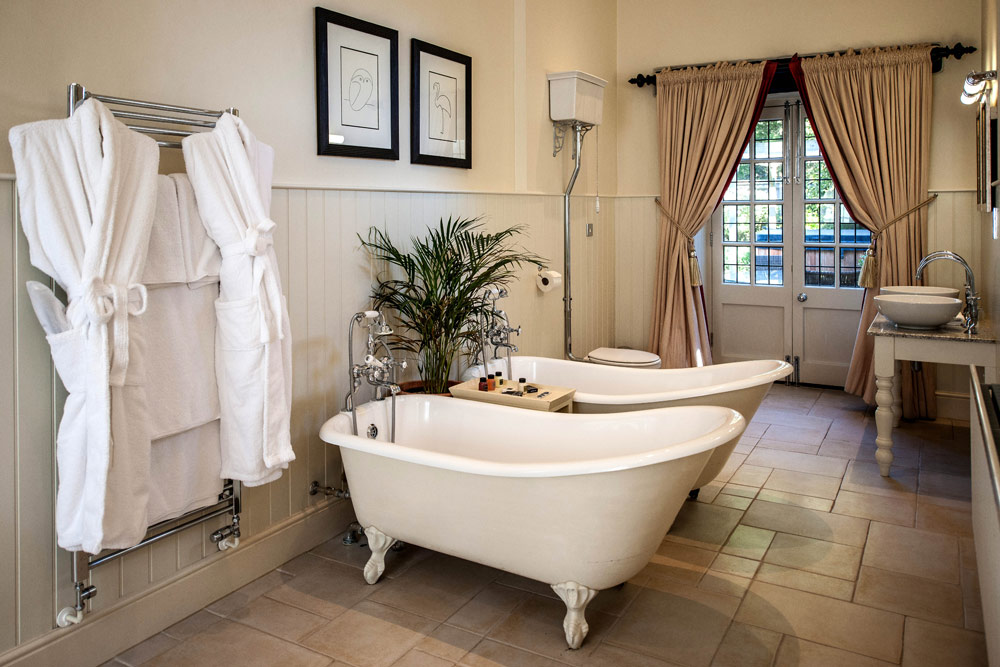 Garden Suite Bath at Lower Slaughter Manor, United Kingdom