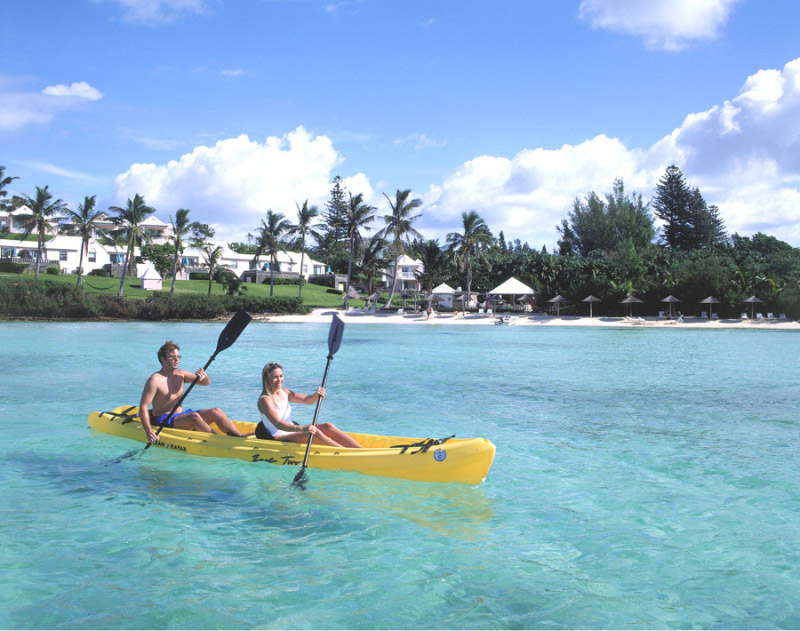Kayak Activity at Cambridge BeachesBermuda