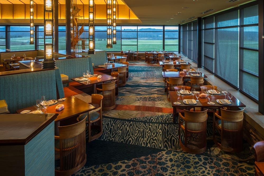 Dining Room at Nemacolin Woodlands Resort and SpaFarmingtonPA