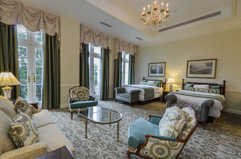 Double Junior Suite at Nemacolin Woodlands Resort and Spa, Farmington, PA