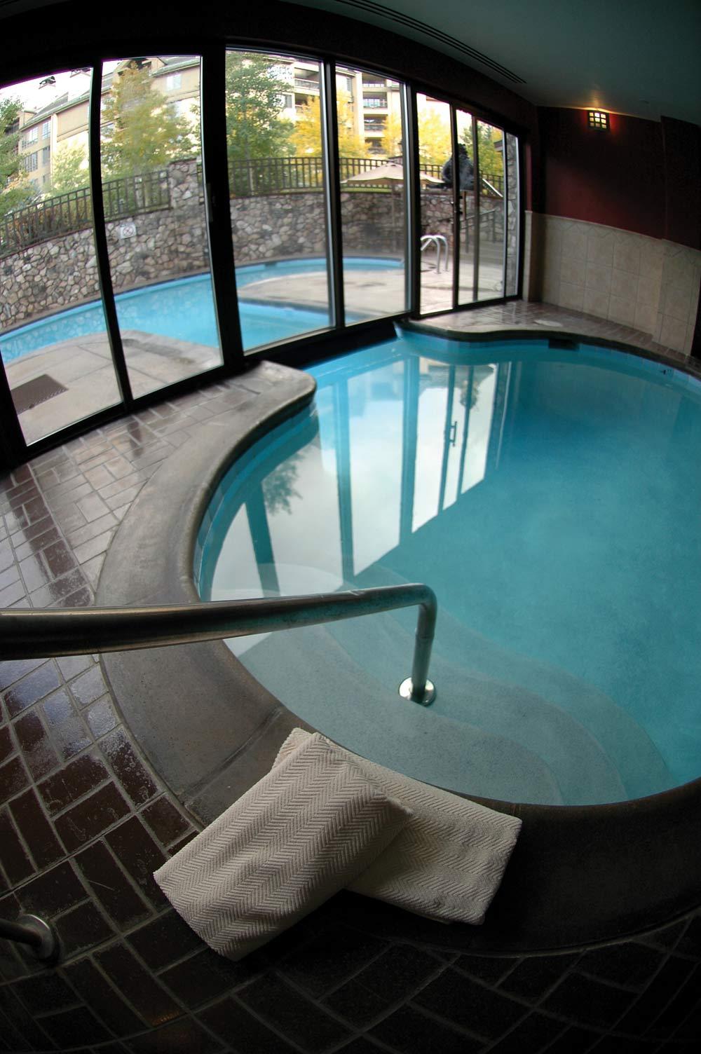 Indoor Pool at Beaver Creek Lodge,  Beaver Creek, CO