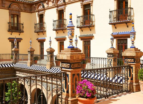 Hotel Alfonso XIII Courtyard