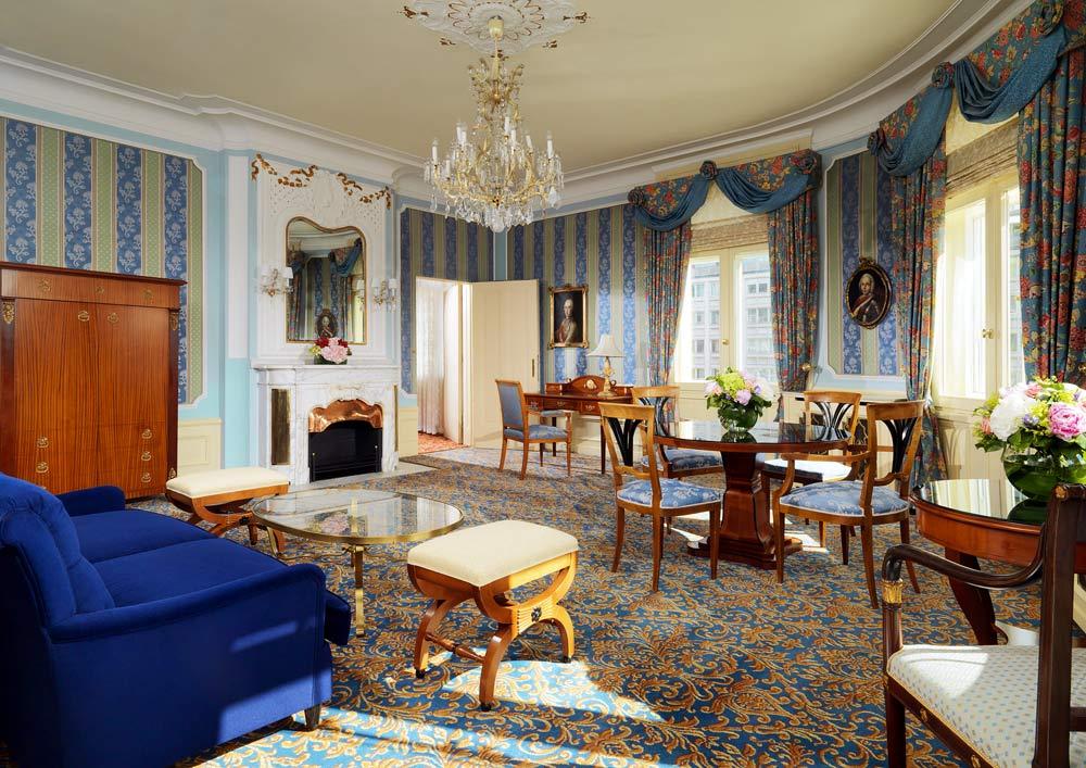 Guest Suite at Hotel Bristol Vienna, Austria