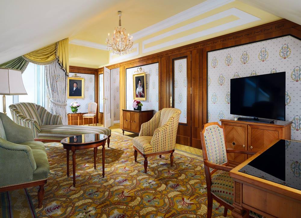 Suite at Hotel Bristol Vienna, Austria