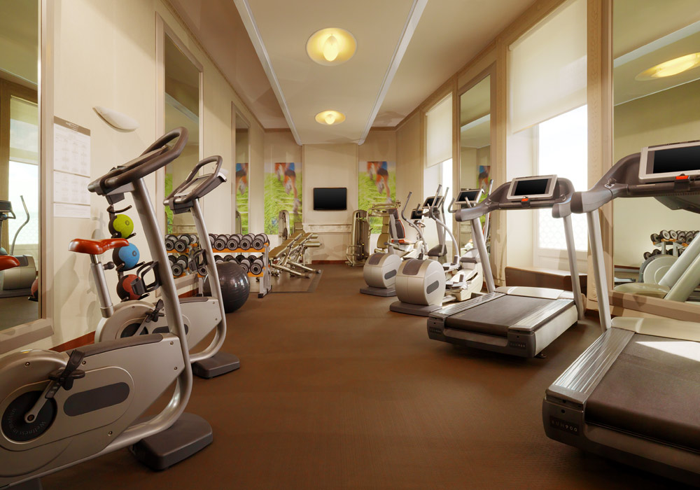 Fitness Center at The Westin Excelsior FlorenceItaly