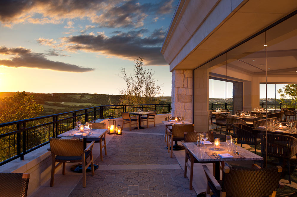 Terrace Dining at La Cantera Resort and SpaSan AntonioTX