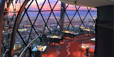 Al Faisaliah The Globe Experience Dining