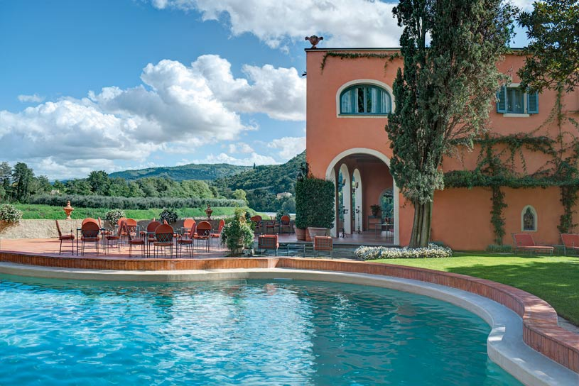 Swimming Pool at Villa La Massa