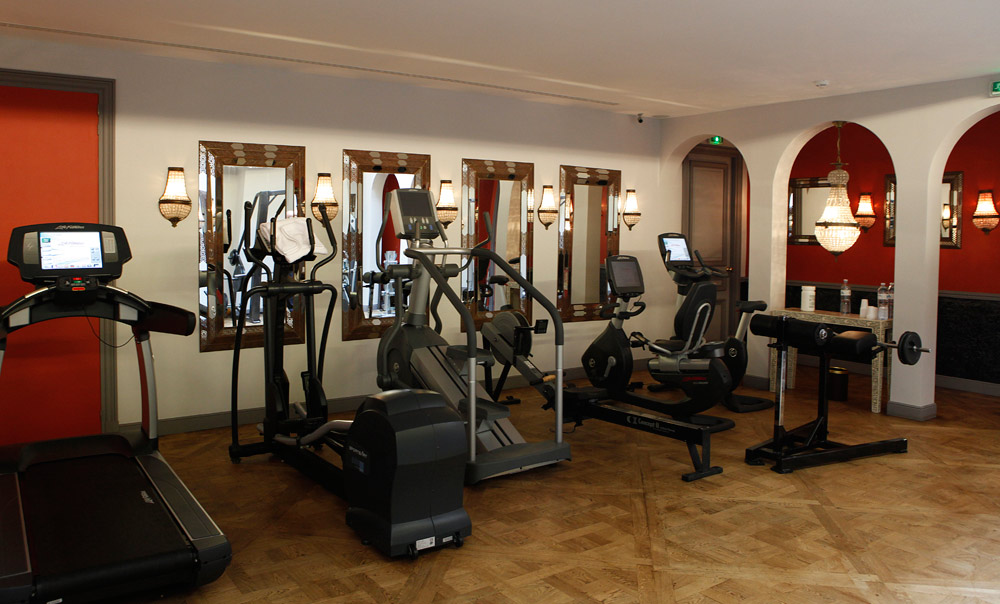 Gym at Saint James ParisFrance