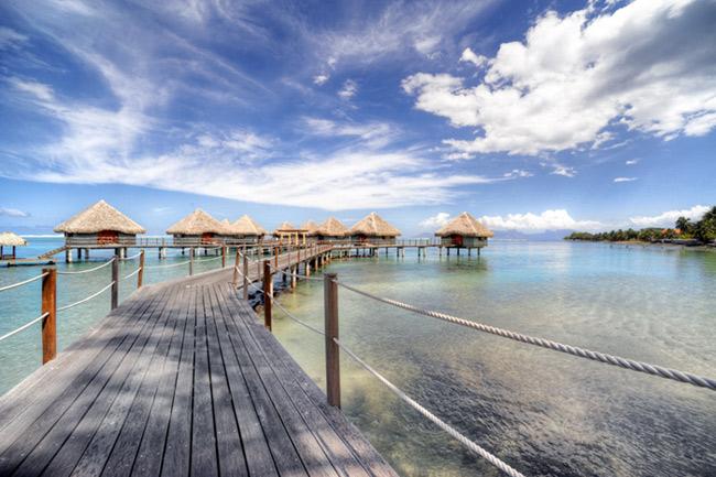 Le Meridien Tahiti Overwater Bungalows