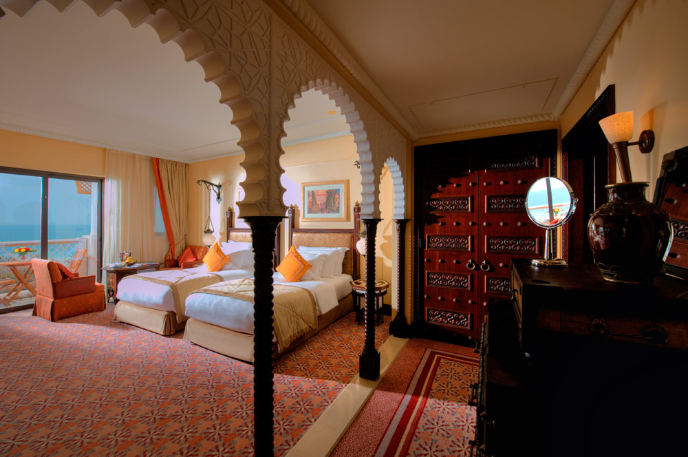 Ocean Deluxe Twin Room at Al Qasr at Madinat Jumeirah Dubai