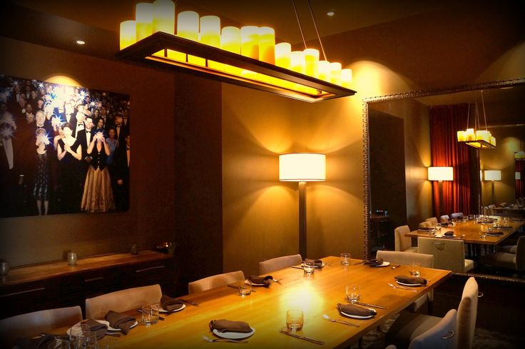 Private dining at Americano Restaurant