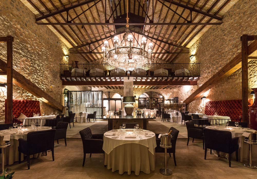 Dining at Gran Hotel Son Net MallorcaSpain