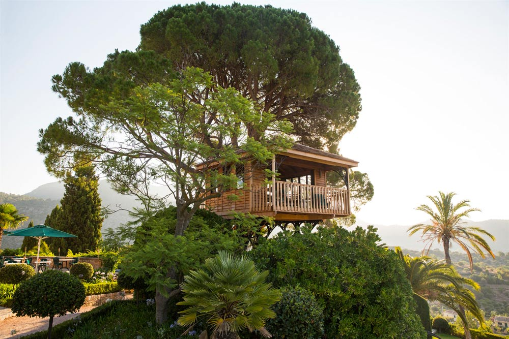 Tree House at Gran Hotel Son Net MallorcaSpain