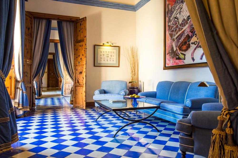 Hallway at Gran Hotel Son Net | Mallorca, Spain