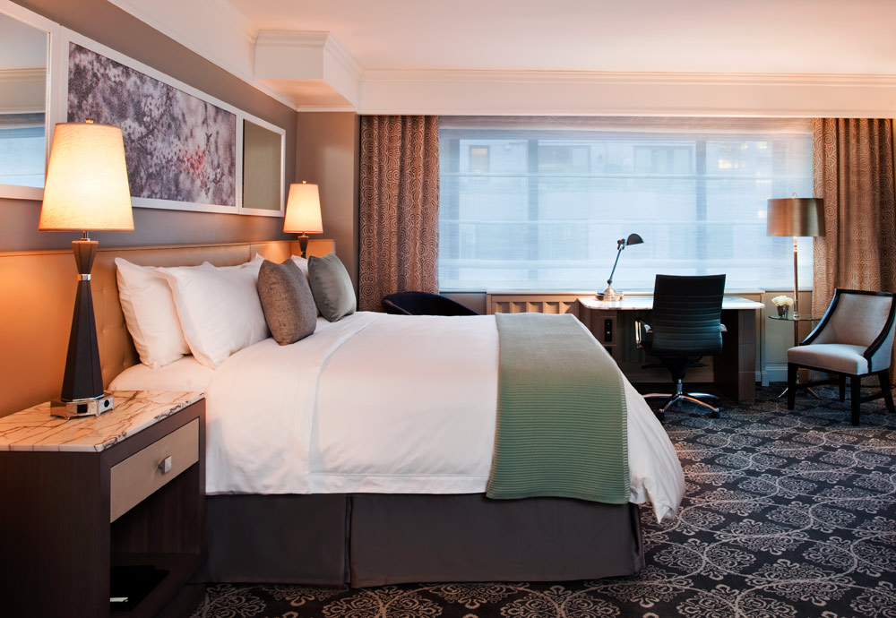 Luxury King Guestroom at Loews Regency HotelNew York