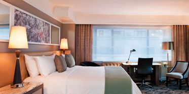 Luxury King Guestroom at Loews Regency Hotel, New York