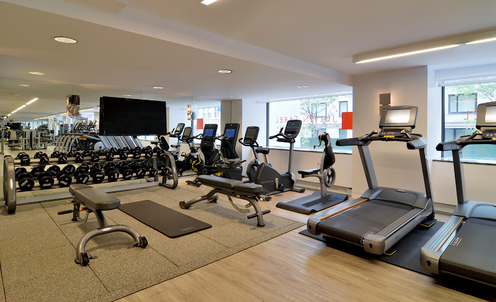 Fitness Center at Loews Regency Hotel, New York