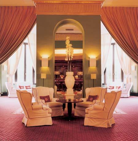 Guestroom Salon at Le Beauvallon