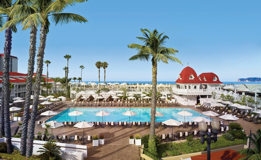 Main Pool at the Hotel del Coronado