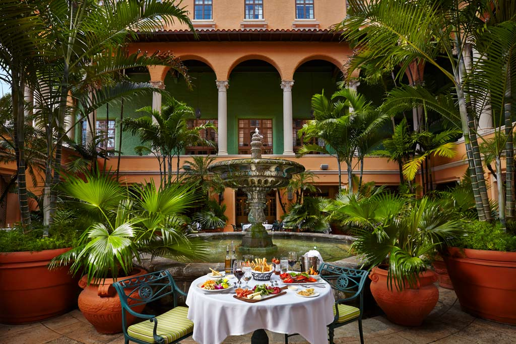 Fontana Lunch at The Biltmore Hotel Coral Gables, Coral Gables, FL